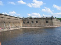 Peter and Paul Fortress in Sankt Petersburg