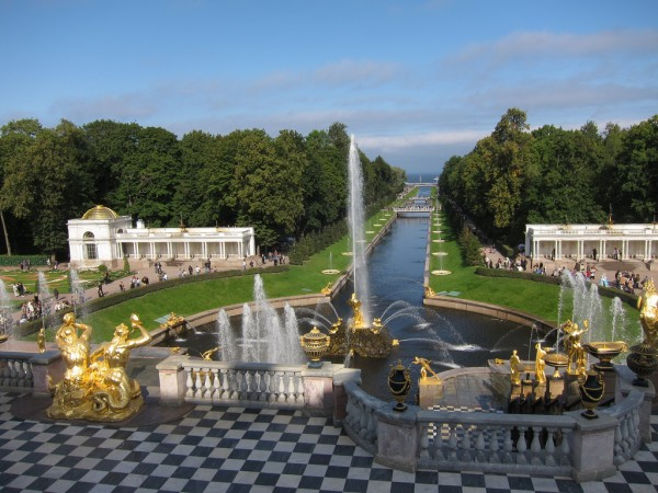 Grand Canal in Peterhof