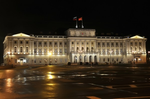 The Marinskiy Palace in Sankt Petersburg