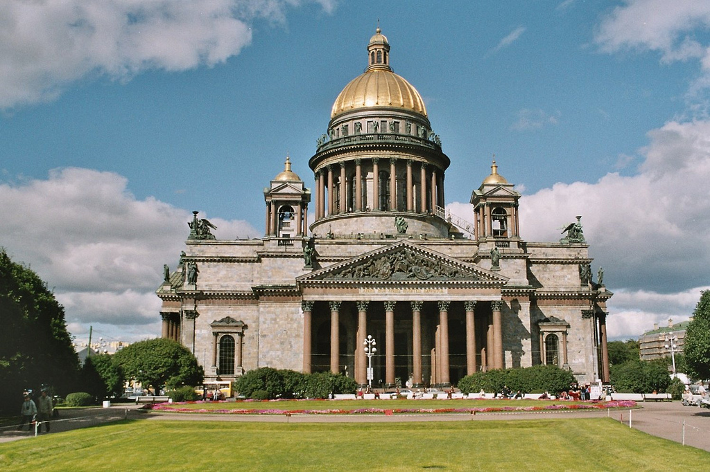 St Isaac S Cathedral In St Petersburg Russia Travel Guides