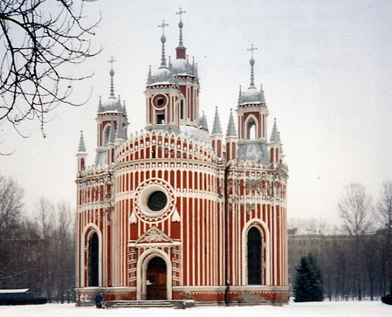 The Church of Saint John the Baptist at Chesme Palace
