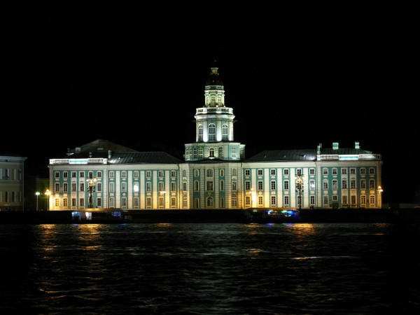 The Kunstkammer in Sankt Petersburg