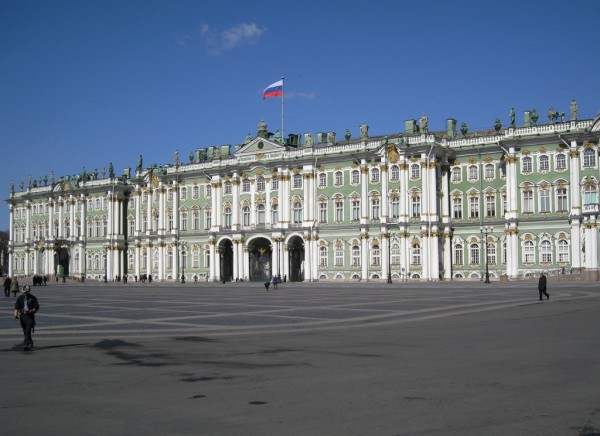 The Winter Palace in Sankt Petersburg