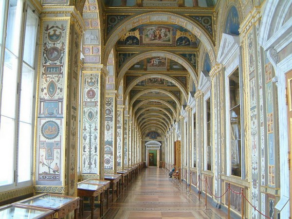 Inside of the Hermitage