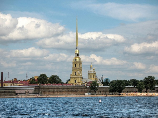 Peter and Paul Fortress with the Church