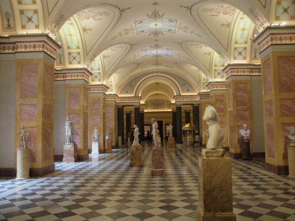 Statues in the Hermitage Museum
