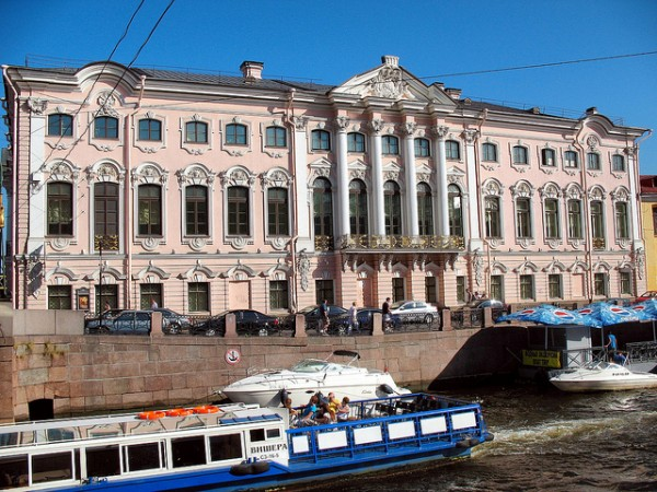 Stroganov Palace in Sankt Petersburg