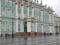 The Hermitage Museum in Sankt Petersburg