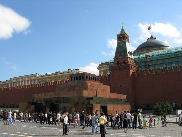 Lenin Mausoleum in Moscow
