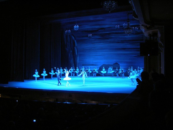 Swan Lake at the Bolshoi Theater