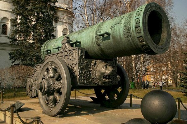 The Imperial cannon in Moscow