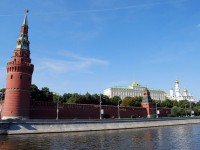 The tourist attractions of the Red Square in Moscow