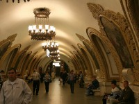 The beautiful Subway in Moscow