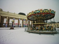 The Gorky Park in Moscow