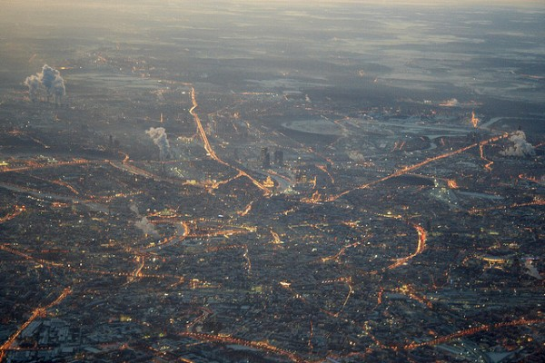 Moscow at evening