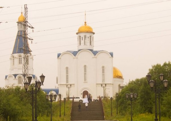 Ortodox church in Murmansk