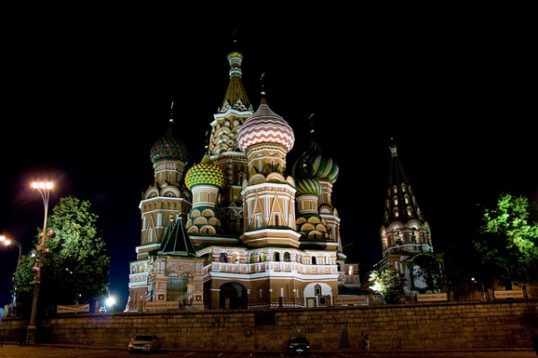 Saint Basil's Cathedral in Moscow
