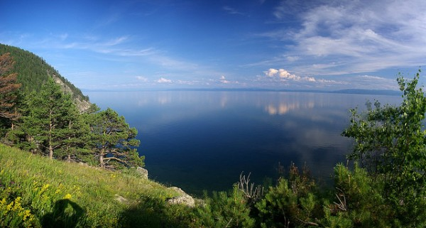 The Baikal Lake in Russia