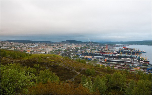 The city of Murmansk