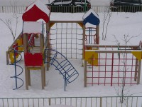 Playground in Murmansk