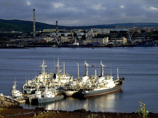 Ships in Murmansk
