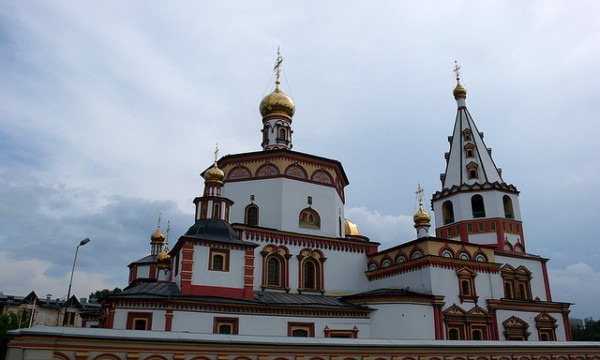 The Bogoyavlensky Cathedral in Irkutsk