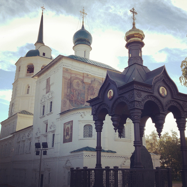 The Church of Our Saviour in Irkutsk
