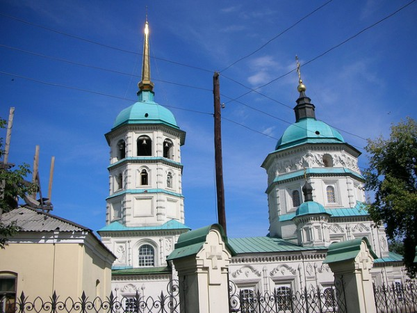 The Holy Trinity Church in Irkutsk
