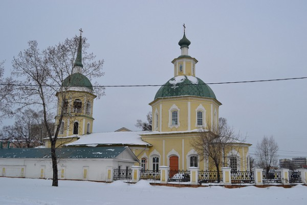 The Preobrazheniya Gospodnya in Irkutsk