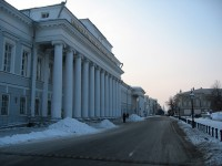 3 important buildings in the city of Kazan
