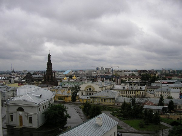 View of the city of Kazan