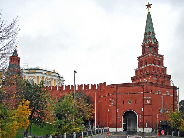 The Armoury Gate in Moscow