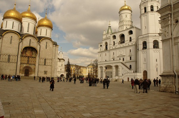 The Cathedral Square in Kremlin