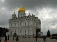 The 3 churches of the Cathedral Square in Moscow