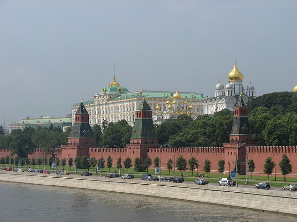 The Kremlin with palaces