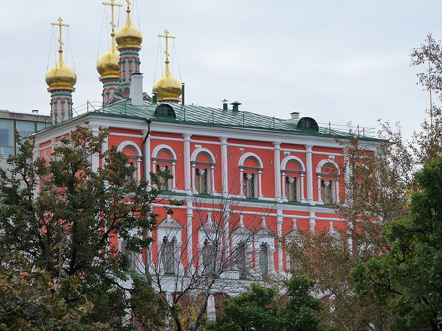 The Terem Palace in Kremlin
