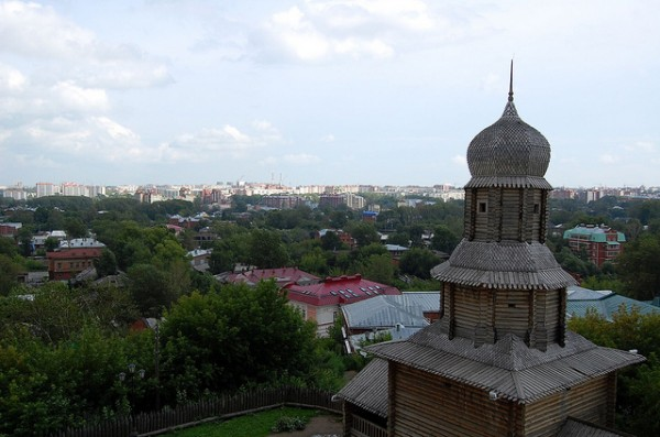 The city of Tomsk