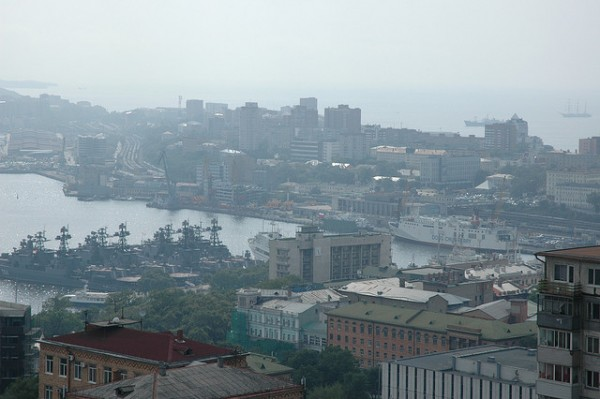 The Russian city of Vladivostok