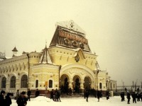 The Vladivostok Railway Station