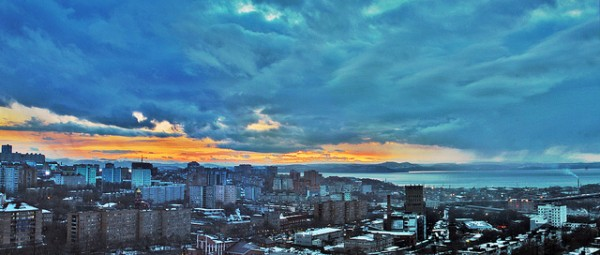 The city of Vladivostok