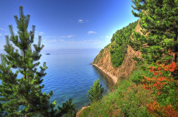 Amazing view of Baikal