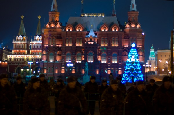 Christmas celebrations in Moscow