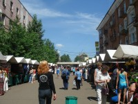 Shopping and accommodation in Omsk
