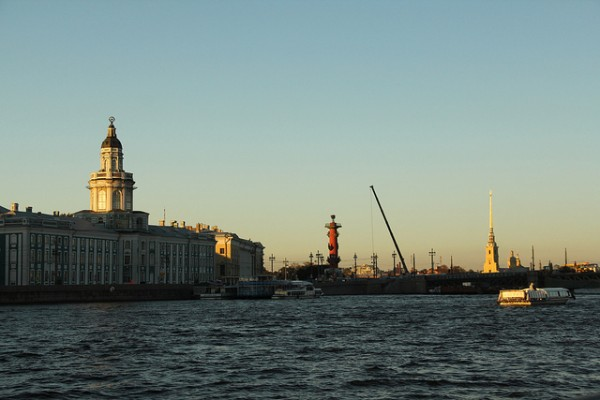 The Neva River in St Petersburg
