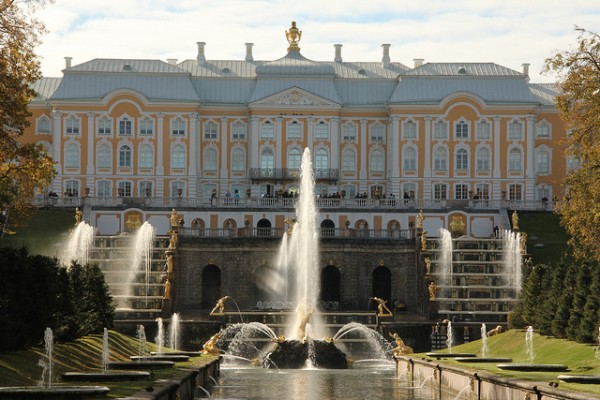 The Peterhof Palace in St Petersburg