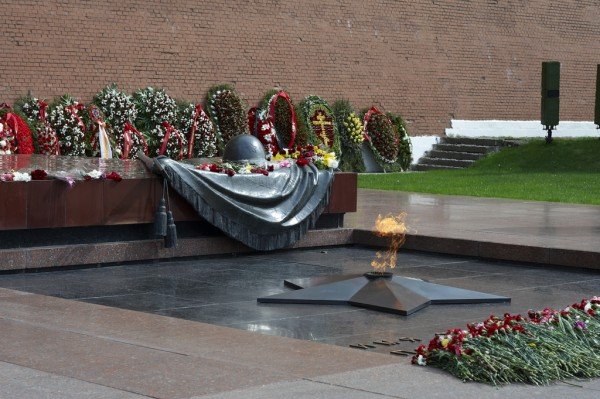 Tomb of the Unknown soldier in Moscow