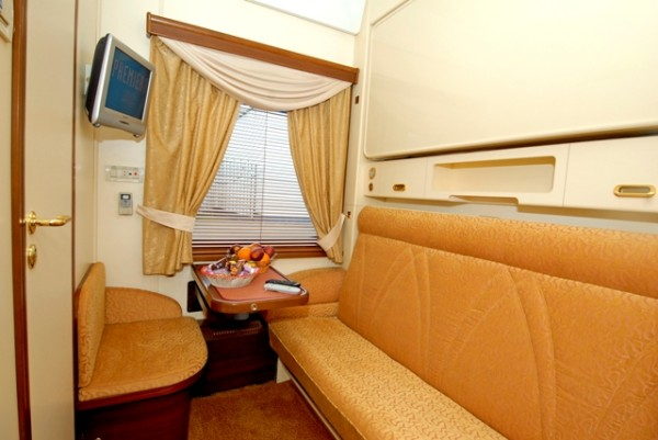 Inside the Golden Eagle Express