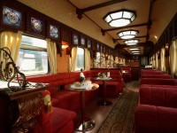 Inside the Golden Eagle Trans Siberian Express