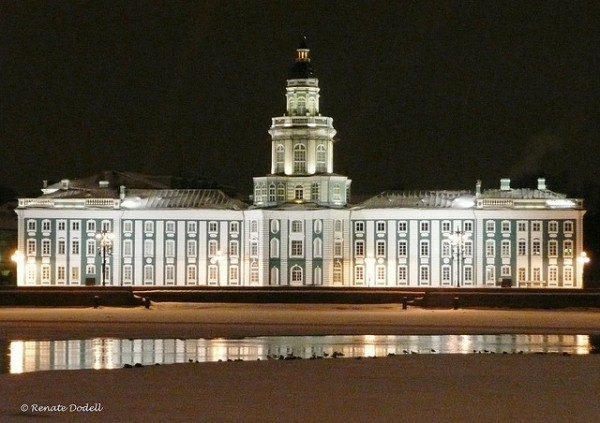 Museum of Anthropology and Ethnography in St Petersburg