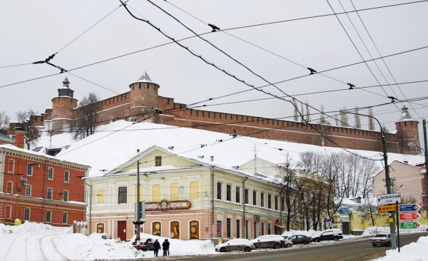 The Kremlin of Nizhny Novgorod